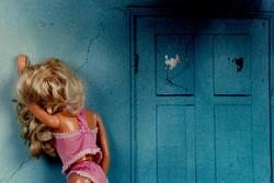 Distressed Barbie