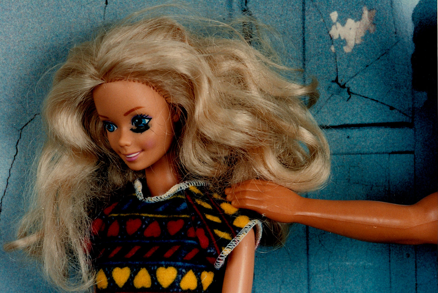 Battered Barbie