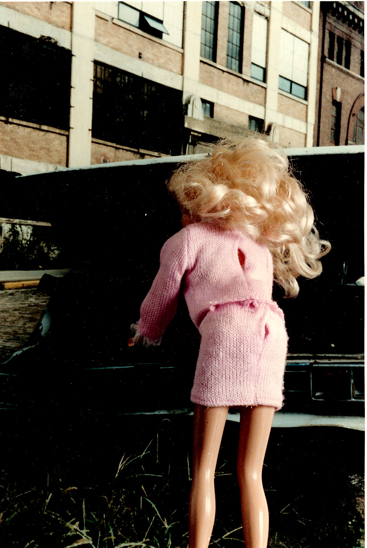 Car Trouble Barbie