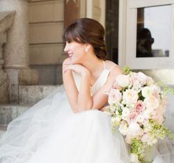 Bride low up-do