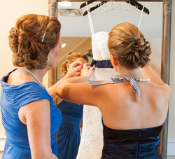 Mother of bride up-do