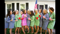 Bridal Party in Tory Burch