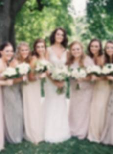 Brenna & Bridesmaids