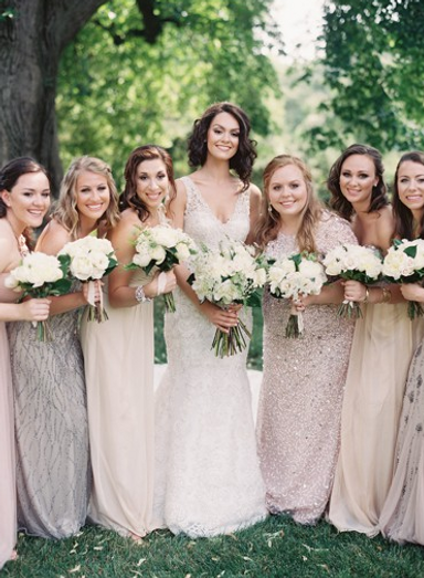 Brenna & Bridesmaids