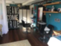 Mardi Mack's home hair studio