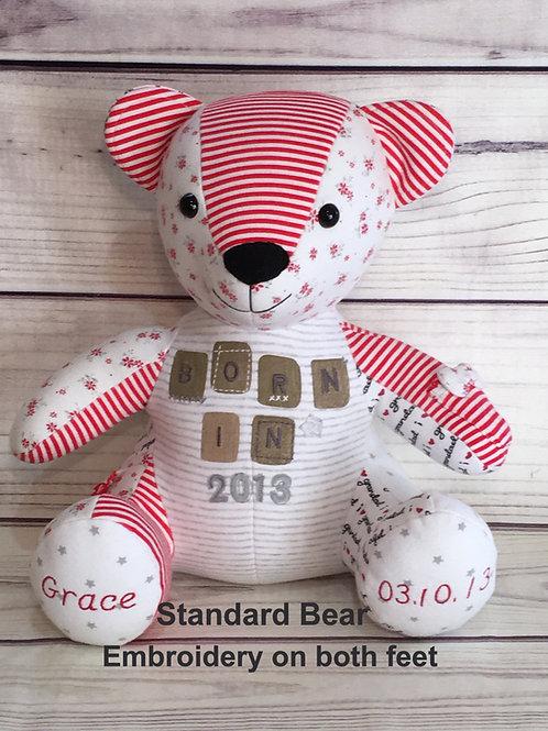 "Standard 12"" bear"