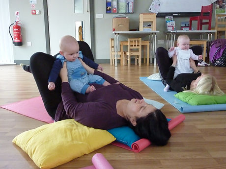 Mummy excercise whist including your baby