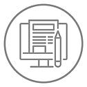 Logo Création graphique et mise en page Imprimerie91
