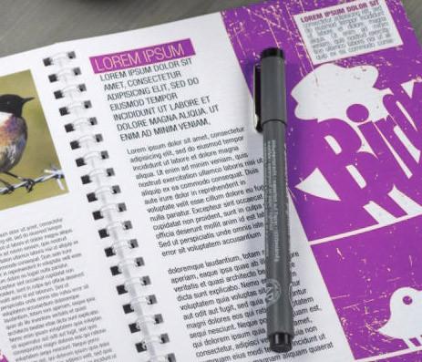 book, livret et brochure reliure métal wire'o, imprimerie 92