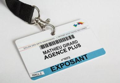 Badge Impressions personnalisées & Impressions variables Imprimerie91