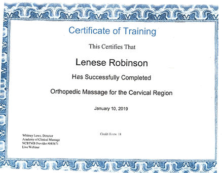Orthopedic Massage Education & Research Institute