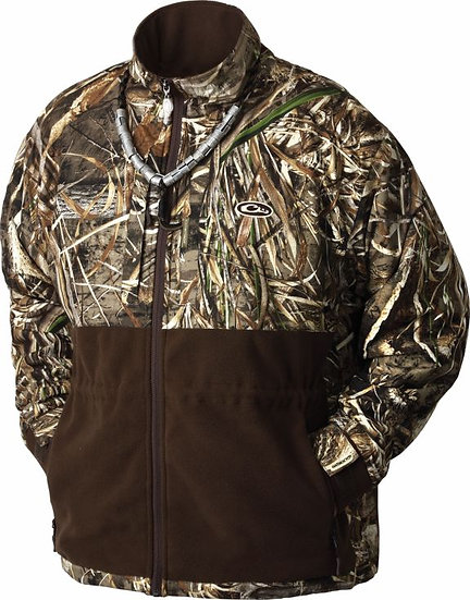 Eqwader Full-zip Fleece Hunting Jacket