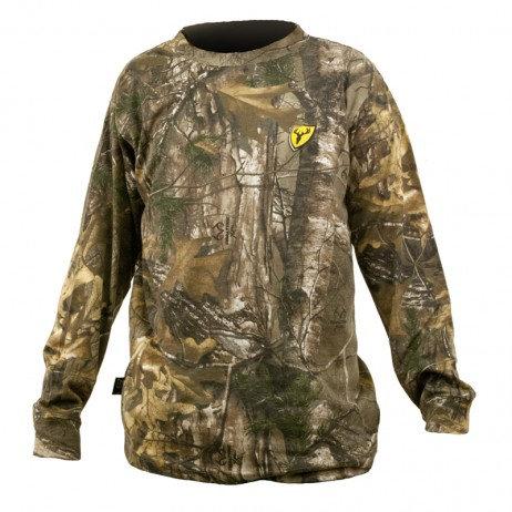 ScentBlocker Mes Long Sleeve Cotton Shirt