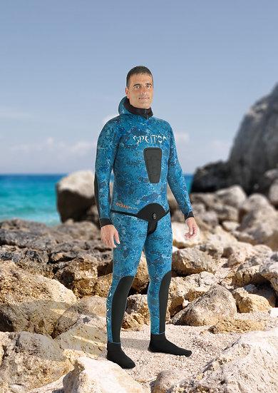 Spetton 3mm Wetsuit Ocean Blue Camo