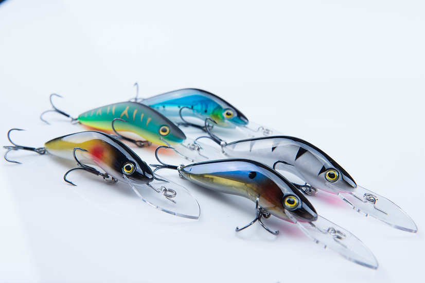 5 Salmon Lure package