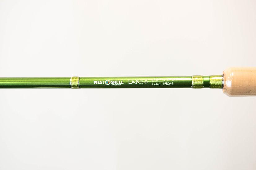 "West Shell Largo Fly Rod 12'6"" #7/8"