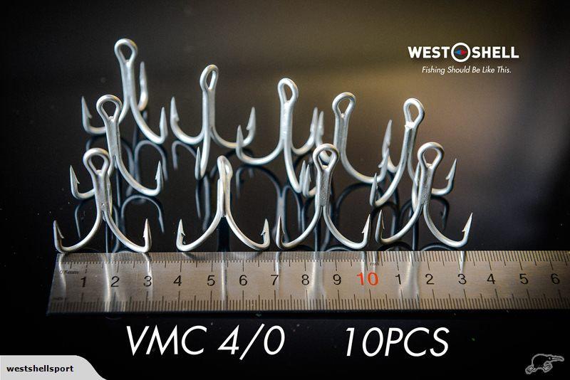 France VMC Fishing Hooks 4/0 5pcs