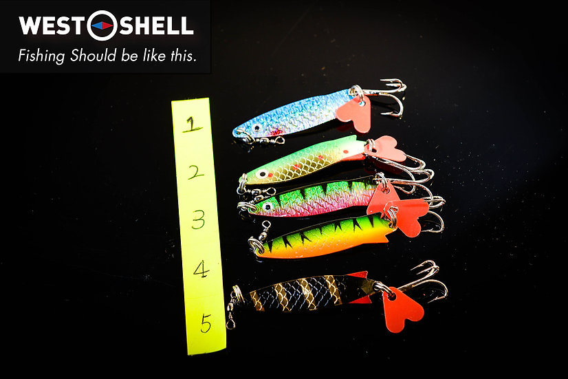 Toby Lures 7g (5 colours) *5