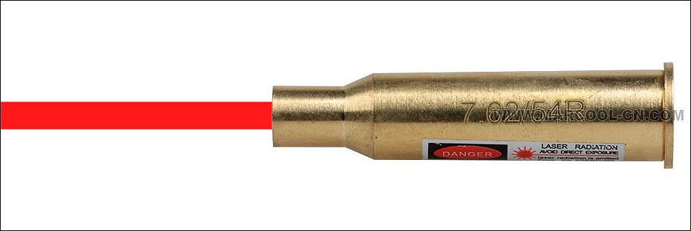 7.62/54R Mag. Cartridge Red Laser Bore Sighter