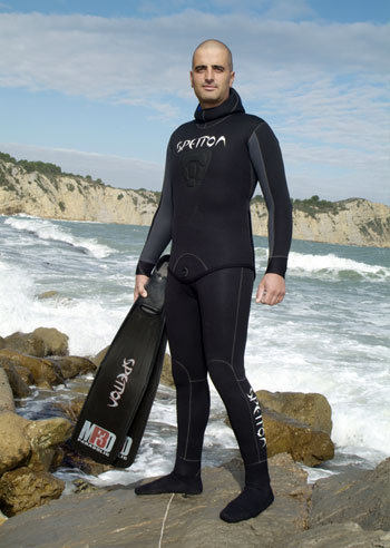 Spetton Fishman Pro Wetsuit (Black)