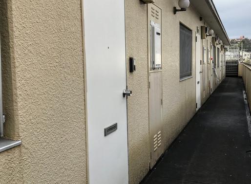 賃貸マンションの玄関ドア交換