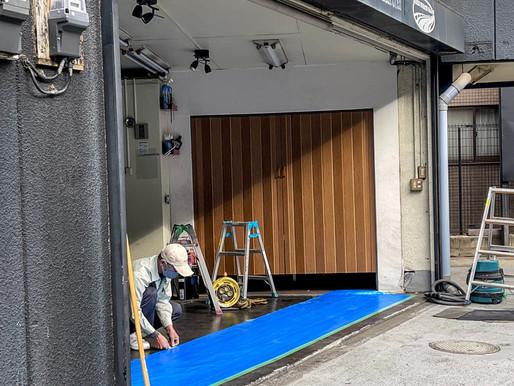 建物の開口部に引戸を設置