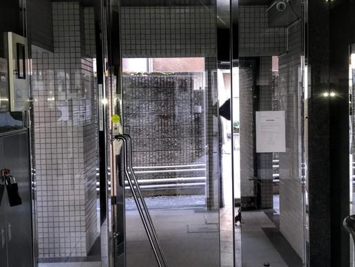 オートロック式開きドアを自動ドアに!