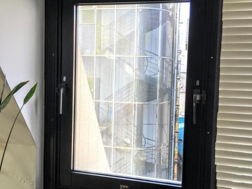 ビルの窓改修