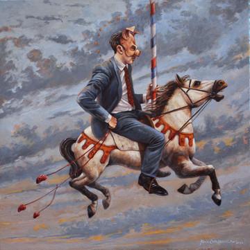 Horse Rider Study 1 // Estudio de jinete 1
