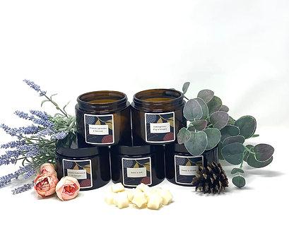 Wax melt storage jars