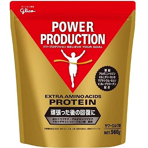 グリコ パワープロダクション エキストラ アミノアシッドプロテイン サワーミルク味 560g