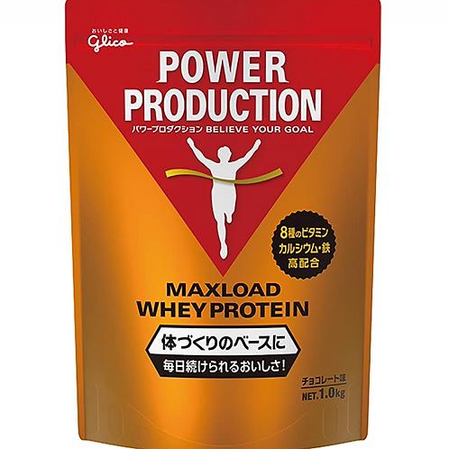 グリコ パワープロダクション マックスロード ホエイ プロテイン 1.0kg