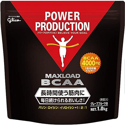 グリコ パワープロダクション マックスロード BCAA4000mg アミノ酸 グレープフルーツ風味 1kg