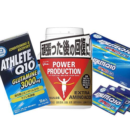 リカバリーセット(エキストラアミノ・コエンザイムQ10・グルタミン)