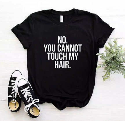 Don't touch my hair (clean)