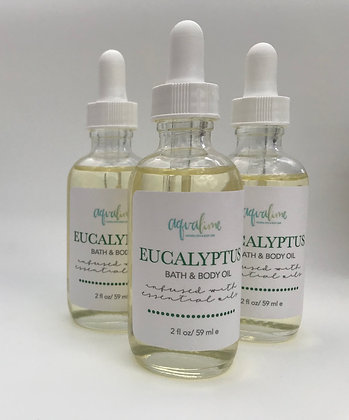 Eucalyptus Bath & Body Oil