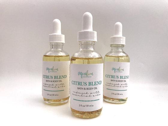 Citrus Bath and Body Oil
