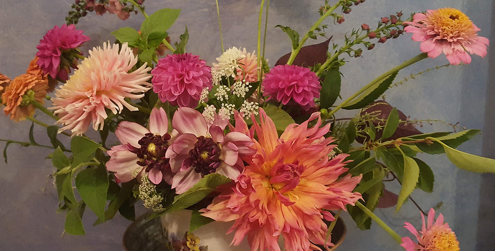 Summer Flower Share 10 bouquets from June 1-Aug 30