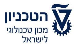 לוגו הטכניון - מכון טכנולוגיה לישראל