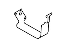 External Bracket (Lysaght® Lo-Front Quad Gutter)