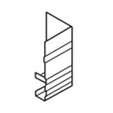 Lysaght® Novaline Fascia External Corner