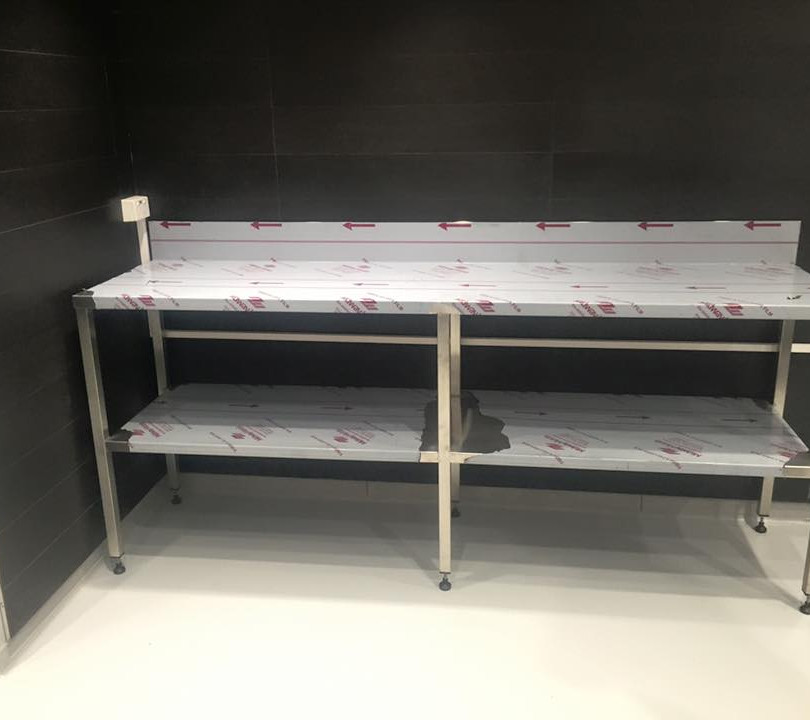 Food Grade Stainless Steel Bench