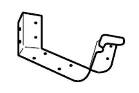 Internal Corner (Lysaght® Lo-Front Quad Gutter)