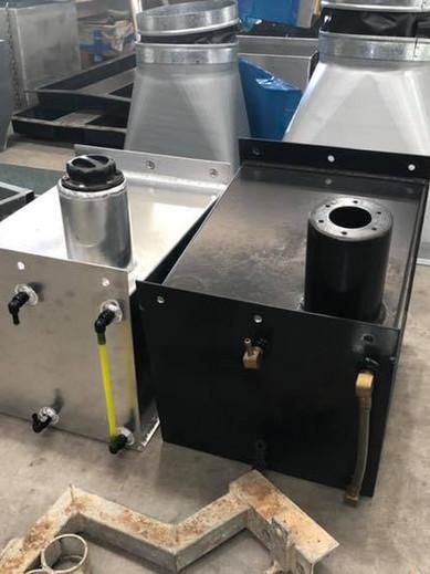 remake of rusty steel fuel tank into alu