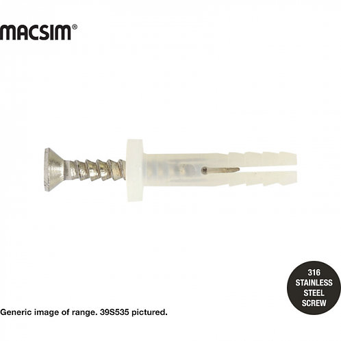 Macsim  6x40mm 304SS BETTADRIVE ANCHOR