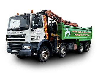 Grantham Grab Hire Lorry