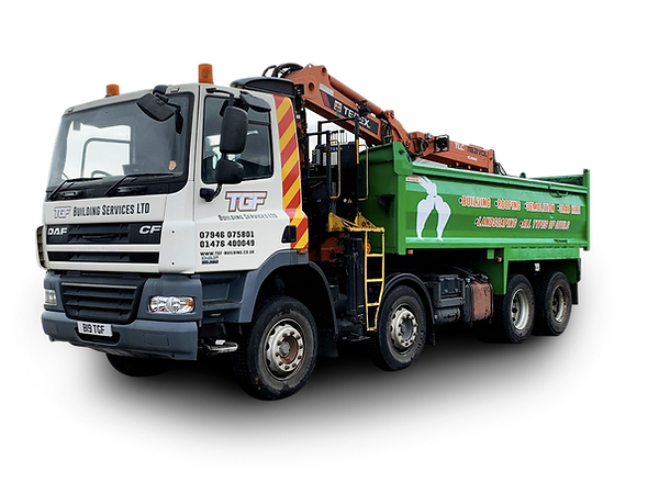 Grab Lorry for Hire in Grantham, Lincolnshire