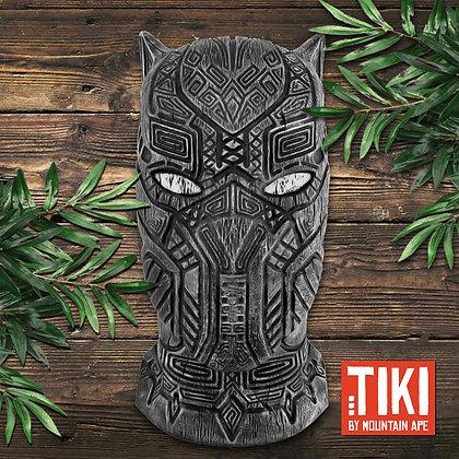 Black Panther Tiki Wall Hanging