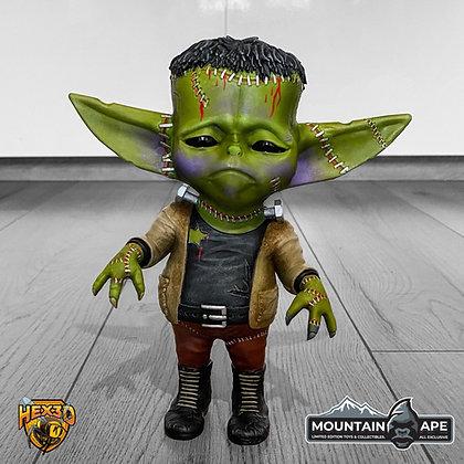 Frankenstein Grogu Mashup