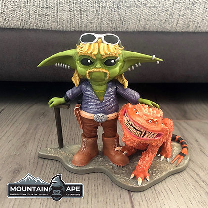 Yoda Exotic Painted Statue